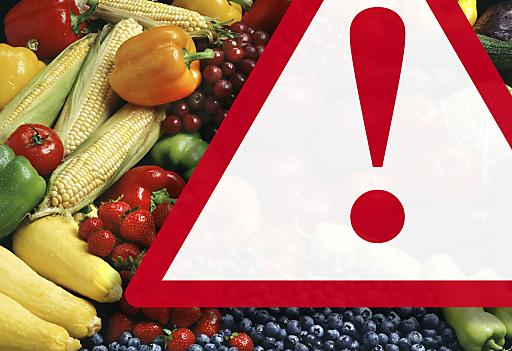 Fotomontage: Wie sicher sind unsere Lebensmittel?