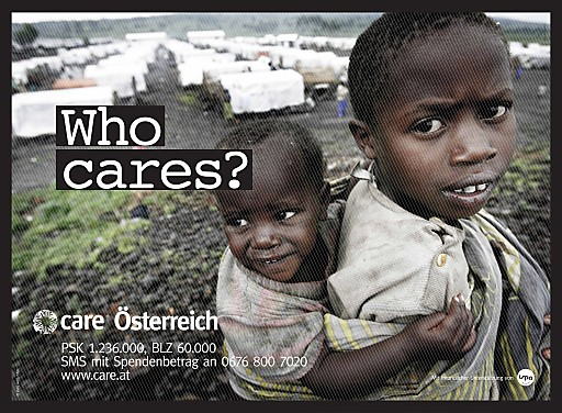 """Alle sechs Sekunden stirbt ein Kind an Hunger - """"Who cares?"""""""