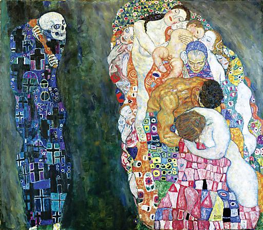 Gustav Klimt (1862-1918), Tod und Leben, 1918, Öl auf Leinwand, 180,5 x 200,5 cm, Leopold Museum, Inv. 630