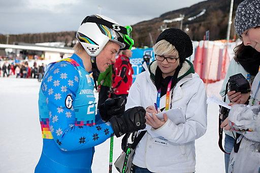 Samsung Mobile Explorer mit Tiroler Schülern bei der Arbeit