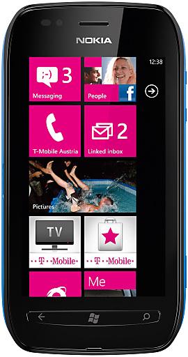 Zweites Windows Phone von Nokia bei T-Mobile: Nokia Lumia 710