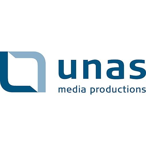 Logo unas media productions gmbh