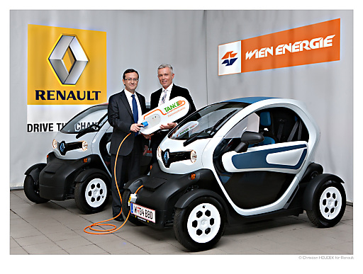 renault und wien energie kooperation f r elektromobilit t wien energie gmbh. Black Bedroom Furniture Sets. Home Design Ideas