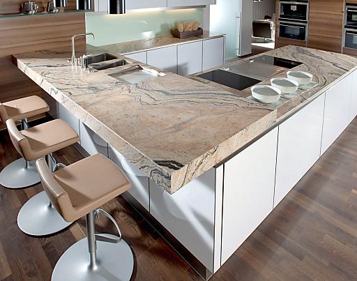 Bild: Strasser ist der Trendsetter bei Küchen-Arbeitsplatten aus ...