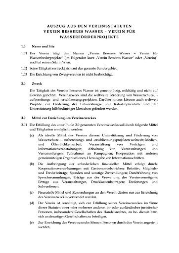 """Verein """"Besseres Wasser"""" gegründet"""