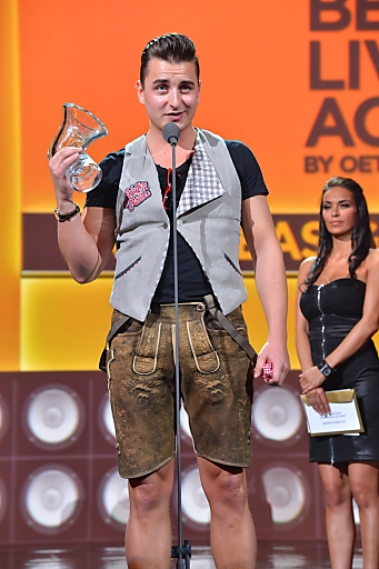 Amadeus Award Best Live Act by oeticket.com geht an Andreas Gabalier