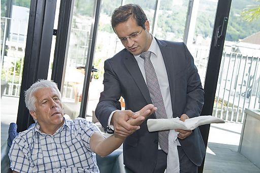 http://www.apa-fotoservice.at/galerie/3010 Priv.Doz.Dr.med. Rohit Arora - (Innsbruck) informiert über eine neue Injektionstherapie