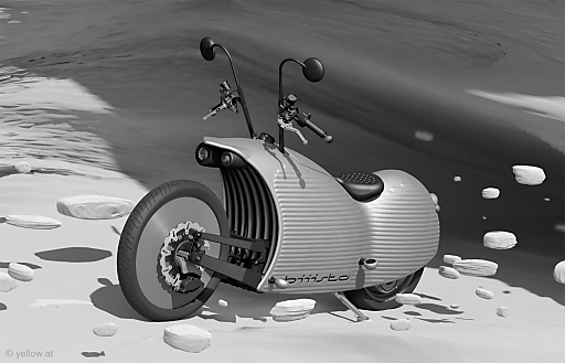 bild biiista elektro motorrad design aus linz. Black Bedroom Furniture Sets. Home Design Ideas