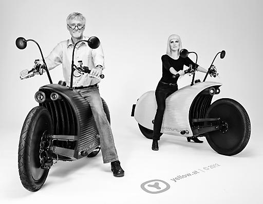 biiista elektro motorrad design aus linz yellow. Black Bedroom Furniture Sets. Home Design Ideas