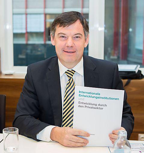 http://www.apa-fotoservice.at/galerie/3080/ Im Bild: Christian Grossmann, Leiter Strategieentwicklung der International Finance Corporation