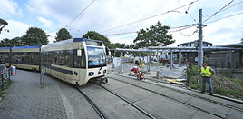 Haltestelle Der Badner Bahn Schedifkaplatz An Der