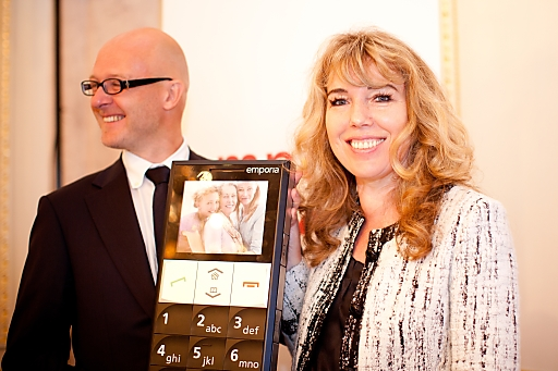 Eigentümer und Geschäftsführer emporia Telecom: Albert Fellner & Eveline Pupeter
