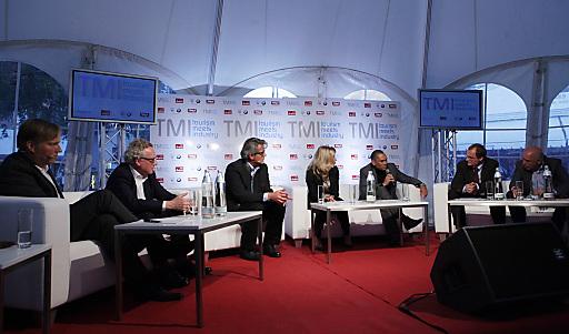 """Große Resonanz fand die Premiere des neuen interdisziplinären Gipfeltreffens """"TMI - Tourism meets Industry"""" in der Olympiaregion Seefeld."""