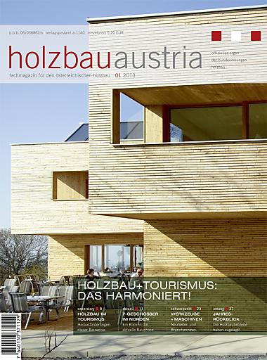 Titelseite Holzbau Austria