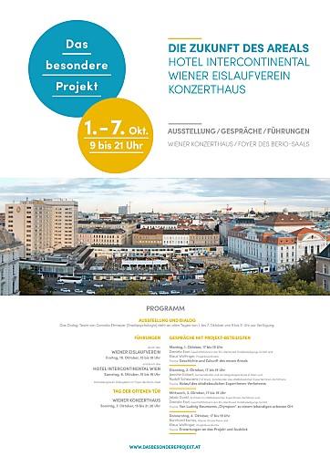 Neugestaltung des Areals Hotel InterContinental/Wiener Eislaufverein/Konzerthaus: