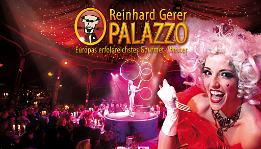 """Reinhard Gerer PALAZZO: """"FOOLS FOR LOVE - Comedy, Chaos & Cuisine"""""""