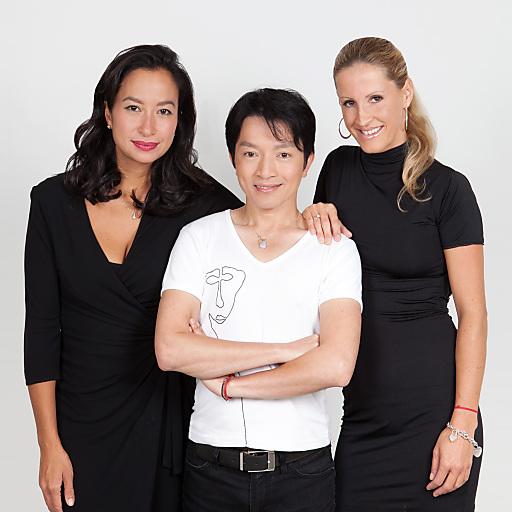 Das La Hong Nhut Team: Bobbie Le Poppmeier, La Hong und Dali Koljanin.