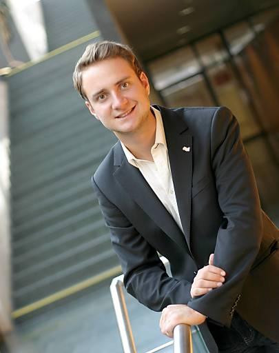 ÖH- Vorsitzender Florian Heiss.