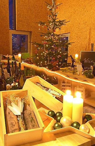 Weihnachten in der LOISIUM Weinerlebniswelt