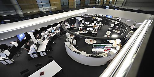 Der neue Newsroom der Tiroler Tageszeitung TT im Pema-Gebäude Headline / Moser Holding MoHo