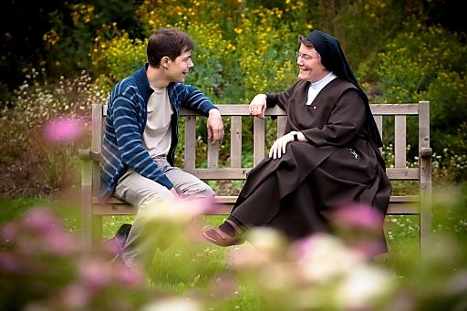Ein wohltuendes Gespräch mit Schwester Emmanuela