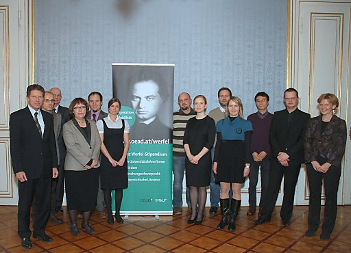 Franz Werfel stipendienprogramm