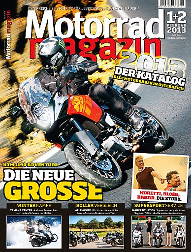 Cover Motorradmagazin