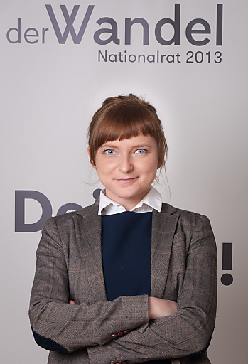"Daniela Platsch, Geschäftsführerin der Partei ""der Wandel"""