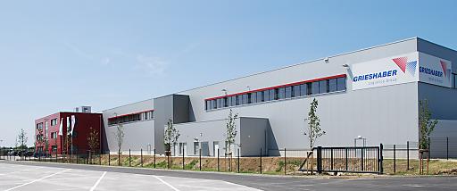 Logistik Park Hochrhein der Grieshaber Logistics Group AG.