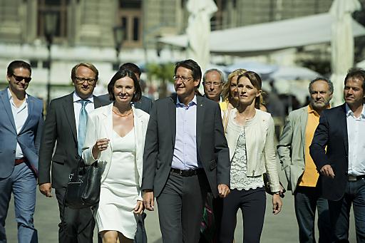 BZÖ-Bündnisobmann Josef Bucher präsentierte heute in einer Pressekonferenz im Wiener Palmenhaus die BZÖ-Bundesliste zur Nationalratswahl 2013.