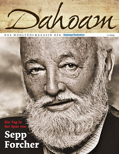 """DAHOAM - das Wohlfühlmagazin der """"Salzburger Nachrichten"""""""