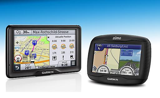 Garmin stellt auf der IFA 2013 unter anderem das Camper Navi 760 LMT sowie das Motorrad Navi zumo 390 LM vor.