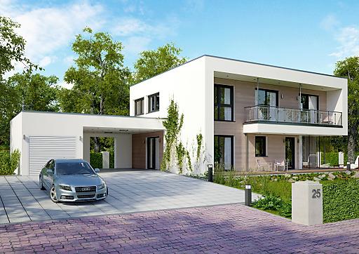 Passivhaus fertighaus  Musterhaus-Eröffnungswochenende