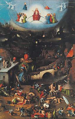 Bild zu ots mitteltafel des weltgerichtsaltars von hieronymus bosch