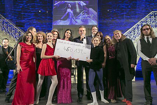 http://www.apa-fotoservice.at/galerie/4717 460.139 Euro wurden für die Ronald McDonald Kinderhilfe gesammelt.
