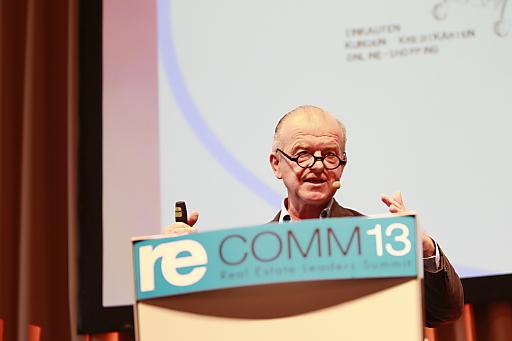"""Rudolf Klausnitzer, österreichischer Medien- und Kulturmanager bringt Licht ins Thema """"Big Data""""."""