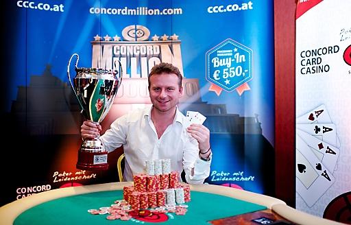Concord Card Casino Simmering am 08.12.13