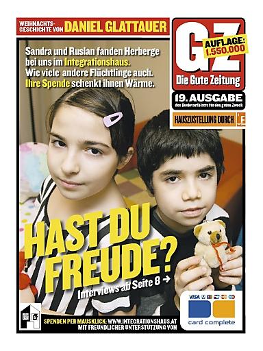 Die 19. Gute Zeitung - Cover