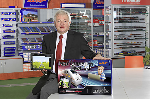 """Mit """"Next Generation"""" steigt die Modelleisenbahn Holding in den Bereich Gaming für die Zielgruppe 6 - 12 Jahre ein. (Im Bild CEO Leopold Heher)"""