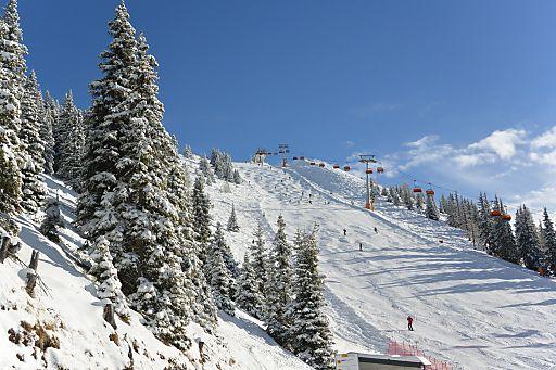 Skigebiet Hauser Kaibling am 12.1.14.