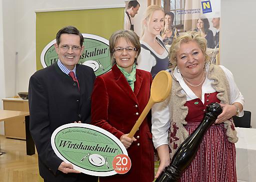 Niederösterreichische Wirtshauskultur feiert 20-jähriges Jubiläum