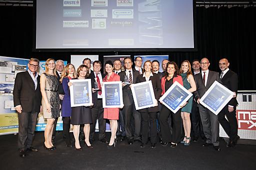 Die glücklichen IMMY-Award Preisträger 2013