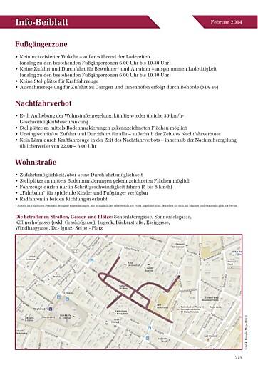 Stenzel: Bäckerstrassenviertel, Befragung soll Klarheit über gewünschte Verkehrslösung bringen