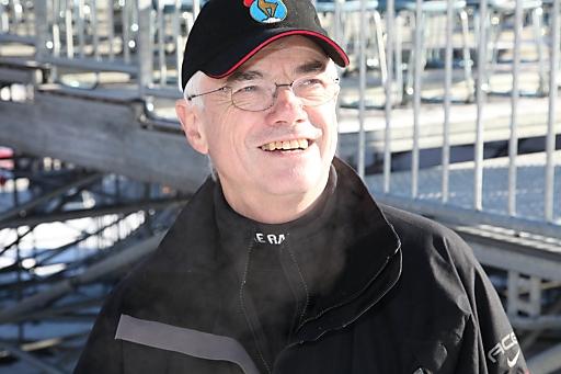 Ing. Hermann Stanger, Hahnenkamm-Rennen. Technikchef Organisationskomitee