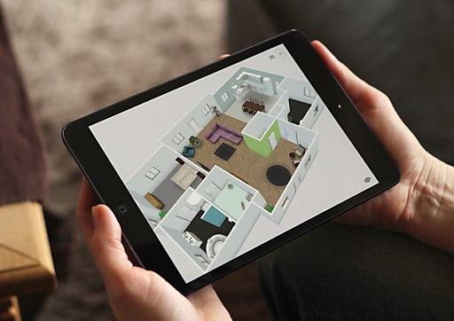 Ab sofort ist mit Roomle im AppStore eine spannende neue Anwendung fürs Planen und Gestalten von Räumen erhältlich.