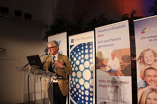 Prim. Dr. Peter Zenz, Vorstand der orthopädischen Abtlg. am Otto Wagner Spital