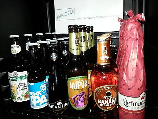 Craft Beer Selektion des Hawidere