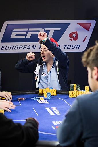 Anthony Ghamrawi, bester Österreicher, belegt 2. Platz