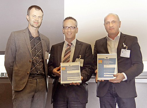 Preisverleihung GreenBuilding Integrated Design Award 2014 an ATP architekten ingenieure