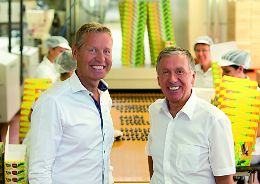 Im Bild v.l.n.r.: Andreas Heindl und Walter Heindl